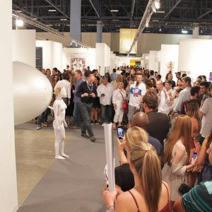 Art Basel Miami Beach. Convention Center. Performance White Rabbit. 2014