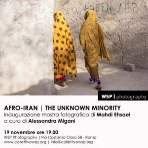 Afro-Iran. The Unknown Minority mostra fotografica di Mahdi Ehsaei presso il WSP Photography di Roma