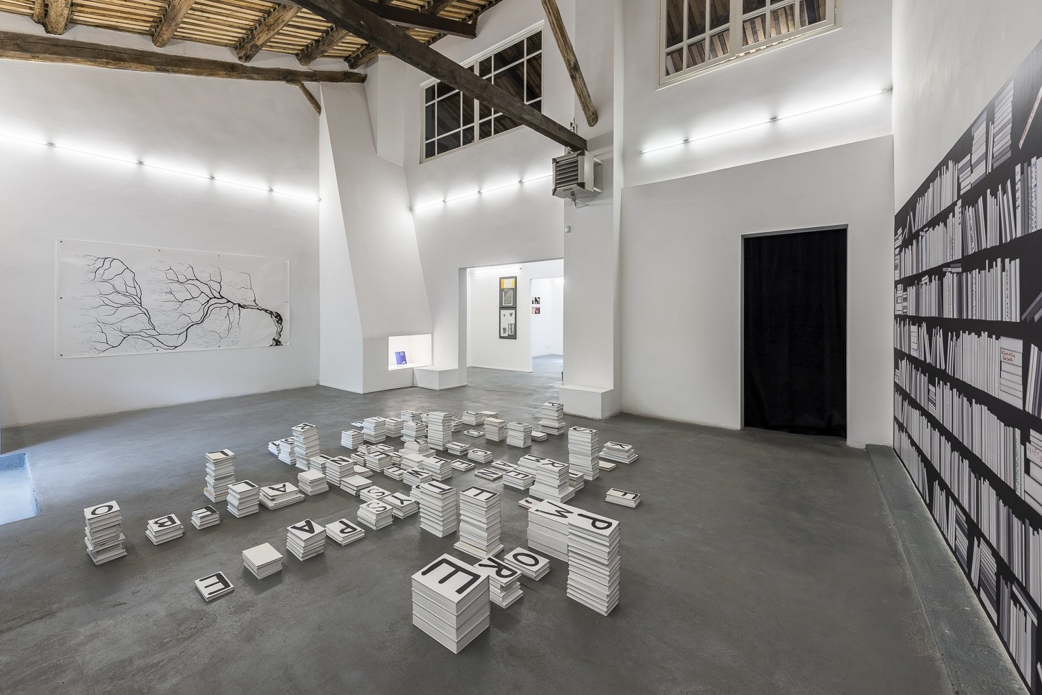 About Books, exhibition view, 2018. Photo by Sebastiano Luciano, courtesy AlbumArte