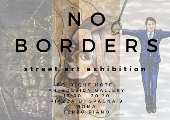 Street Art Exhibition - No Borders <i class='fa fa-question-circle' aria-hidden='true' data-toggle='tooltip' title='Translation is missing. We show the original text in Italian'></i>