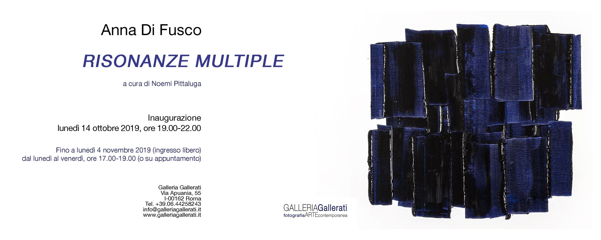 Anna Di Fusco, Risonanze multiple