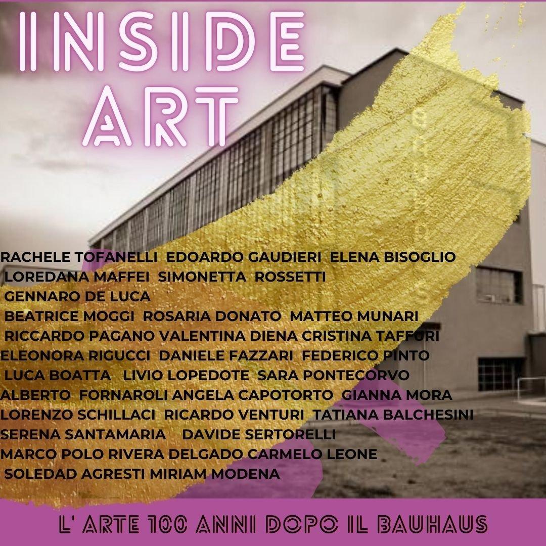 INSIDE ART: L'Arte 100 anni dopo il Bauhaus