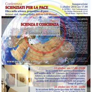 "Exhibition / Event ""Science and Consciousness - Messages useful to humanity"""