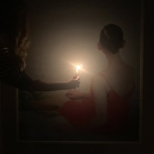 An exhibition by candlelight
