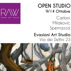 OPEN STUDIO, Carloni-Milakovic-Spernazza