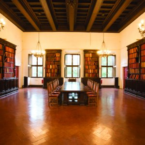 The ancient Library in the Renaissance palace
