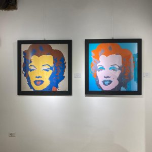 Andy Warhol - This is not by me Marilyn Monroe