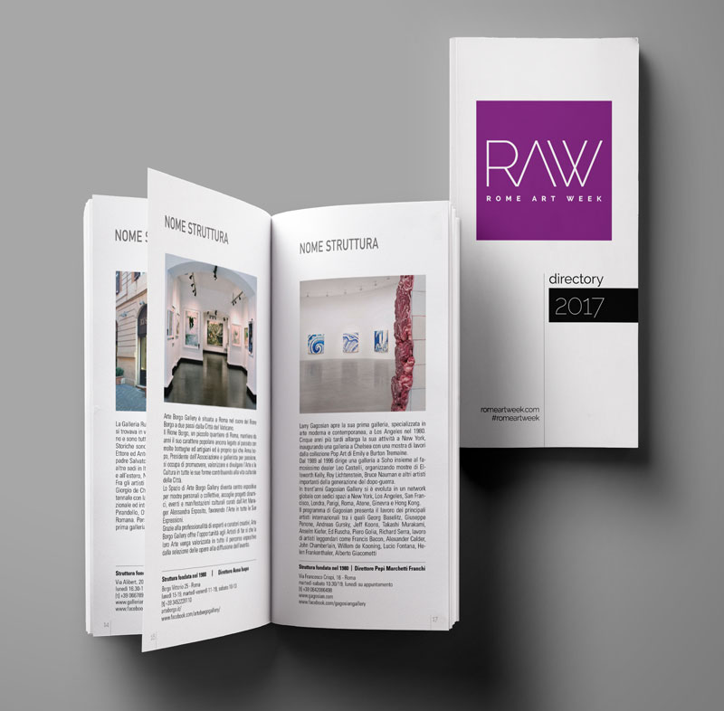 Directory delle strutture di RAW 2017