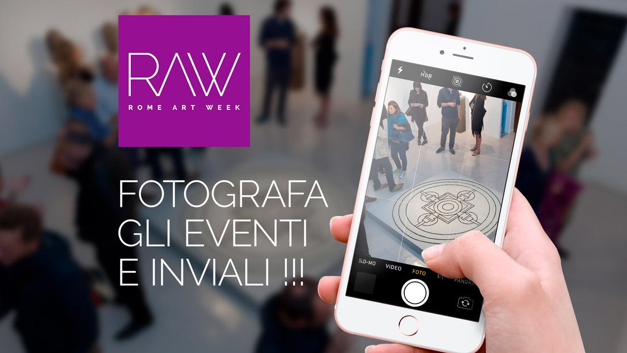 Fotografa gli eventi di RAW 2018