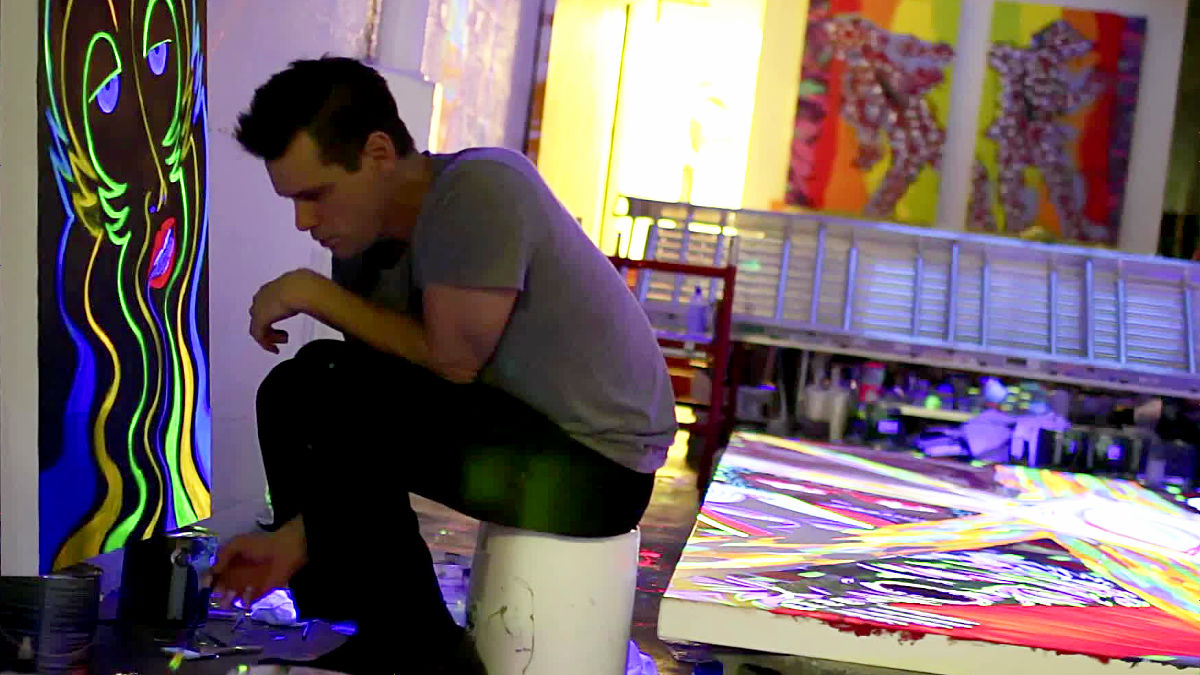 Jim Carrey e la pittura