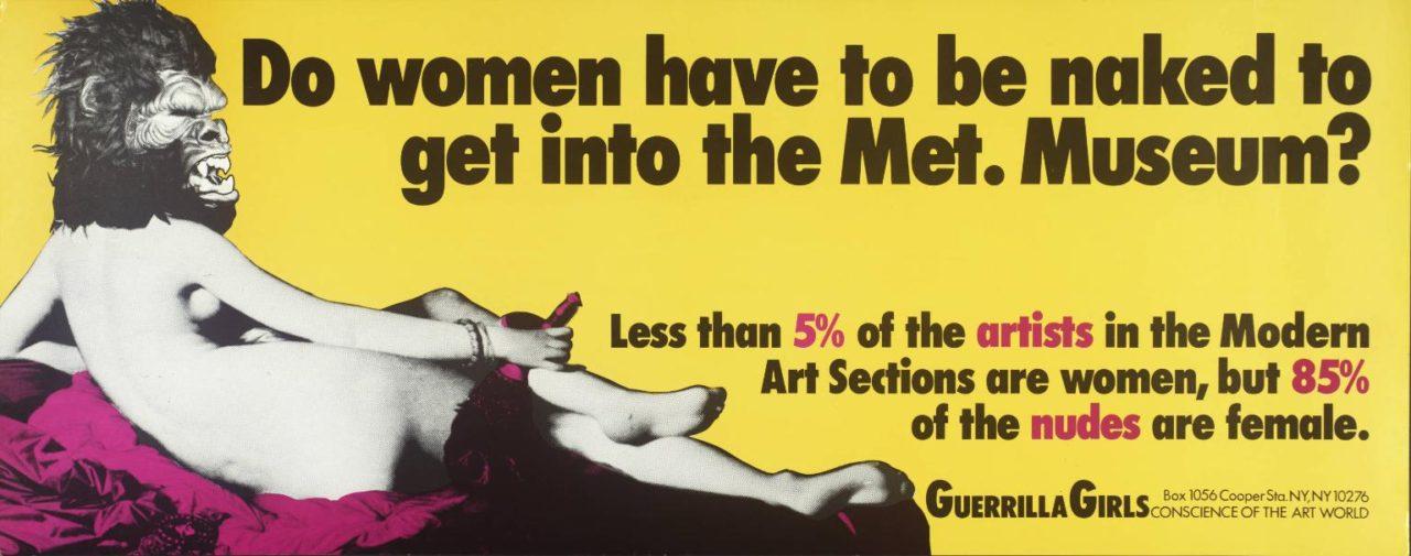 Guerrilla Girls: le cattive ragazze dell'arte
