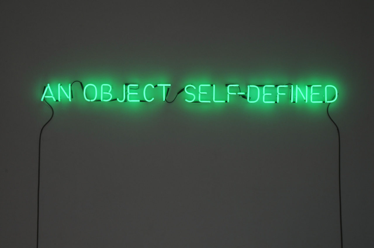 Joseph Kosuth: l'arte in parole