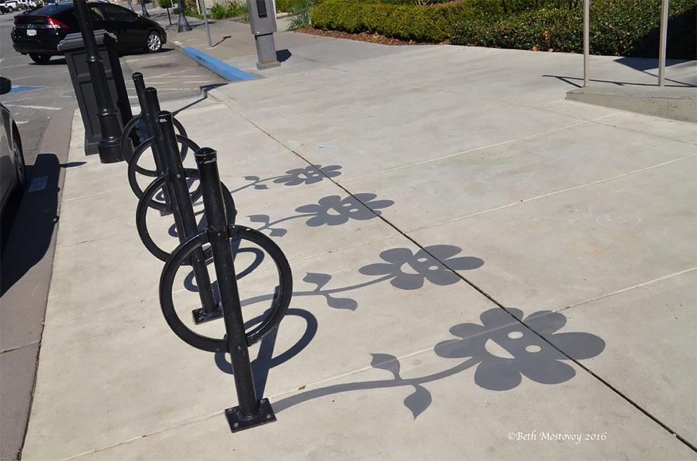 Le ombre come arredo urbano