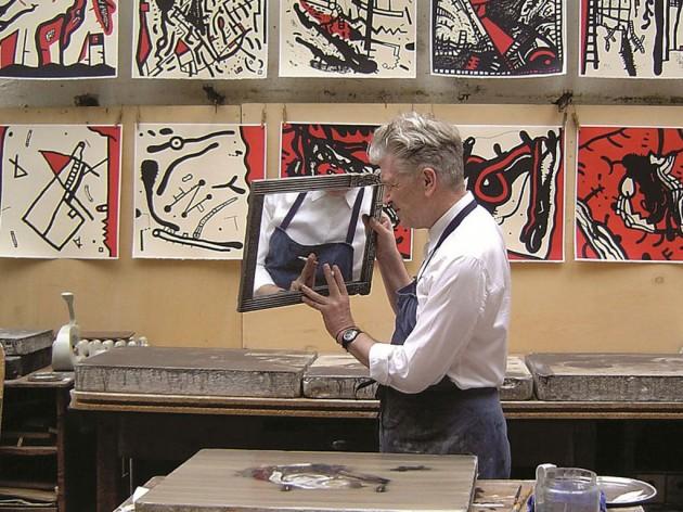 David Lynch: la pittura come sfondo per la sua regia